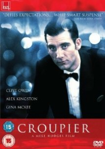 DVD cover of 'Croupier'