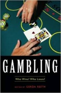 Book cover of 'Gambling. Who wins? Who loses?'